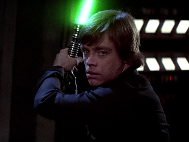 luke skywalker regreso del jedi