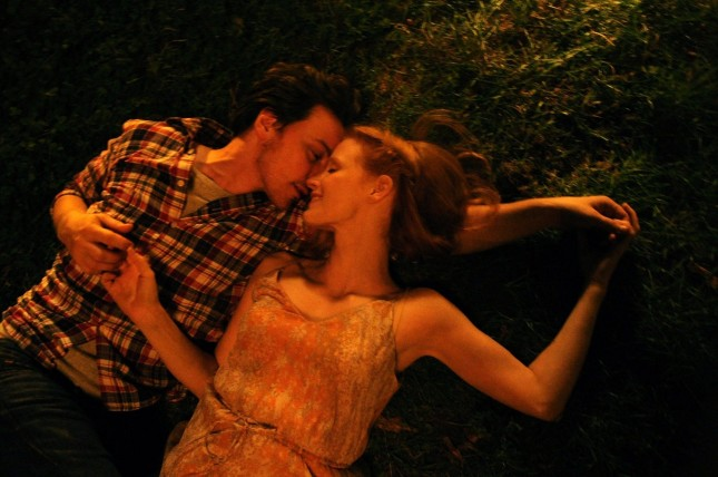 james mcavoy jessica chastain disappearance of eleanor rigby