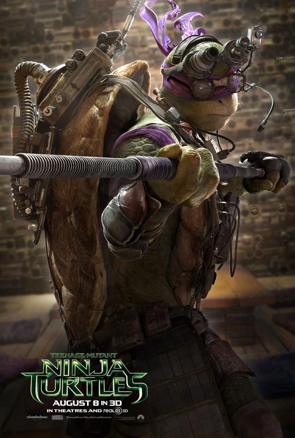 donatello tortugas ninja poster