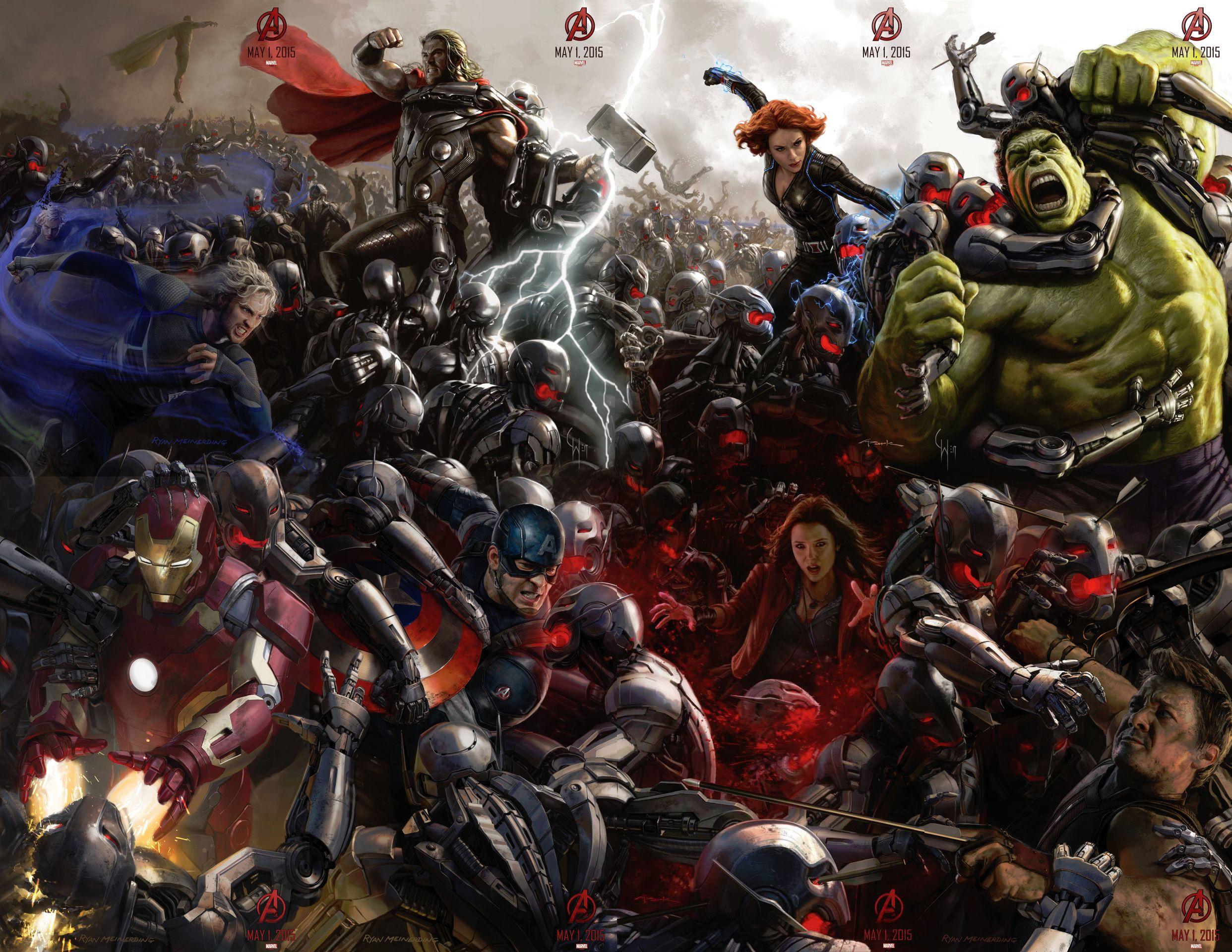 wallpaper epico avengers era de ultron