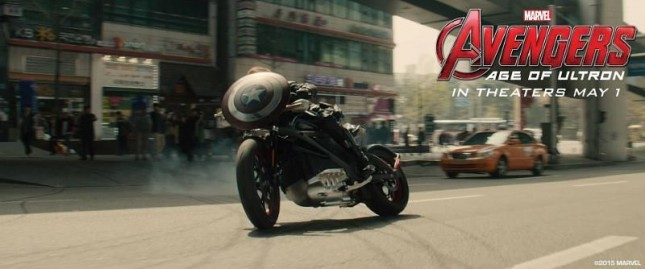 harley davidson avengers era de ultron black widow