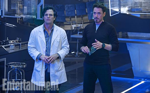 Los Avengers: La Era de Ultron - Banner y Stark