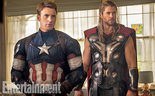 Los Avengers: La Era de Ultron - Capitán América y Thor