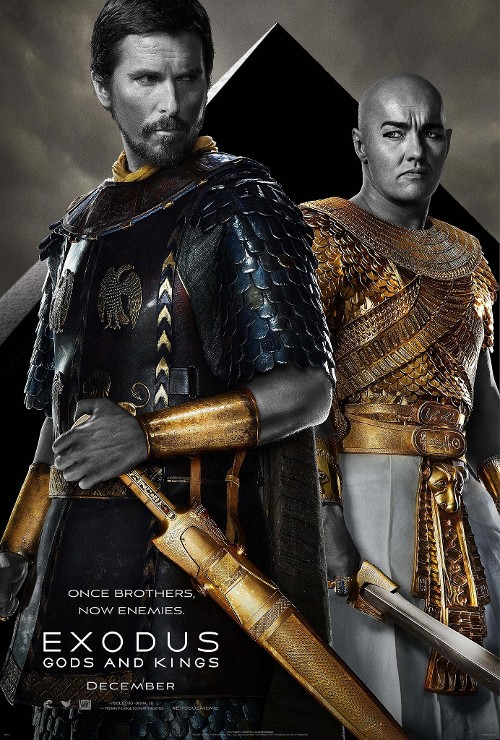 exodus gods and kings poster bale edgerton