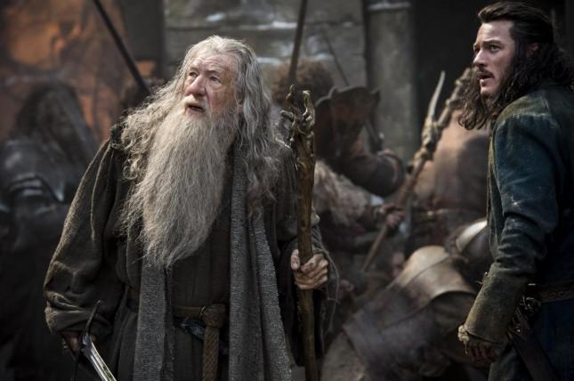hobbit batalla cinco ejercitos gandalf luke evans