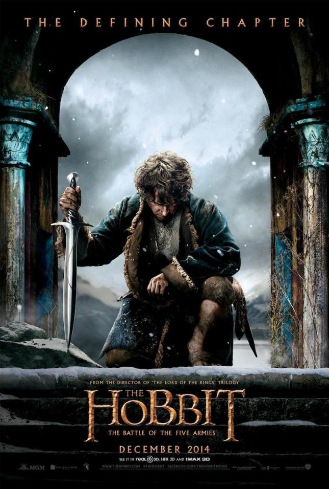 bilbo poster hobbit batalla cinco ejercitos