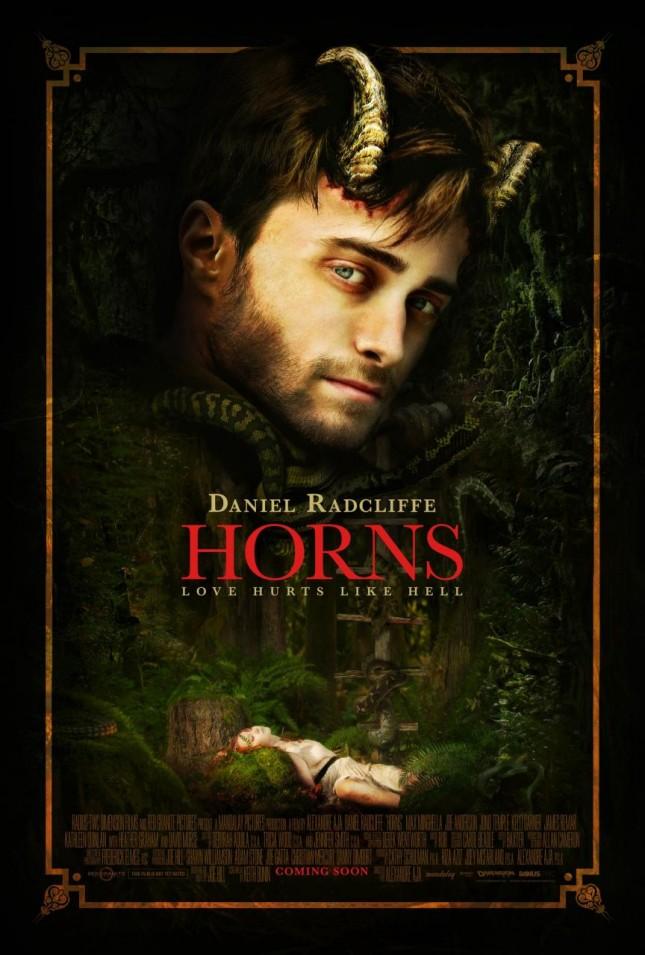 horns poster daniel radcliffe