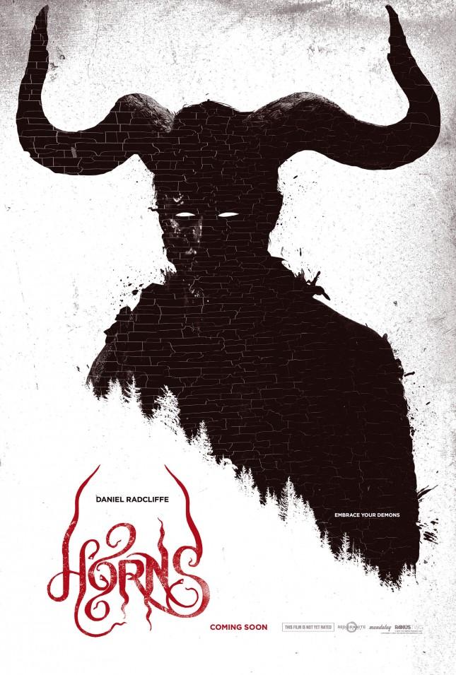 horns poster pelicula
