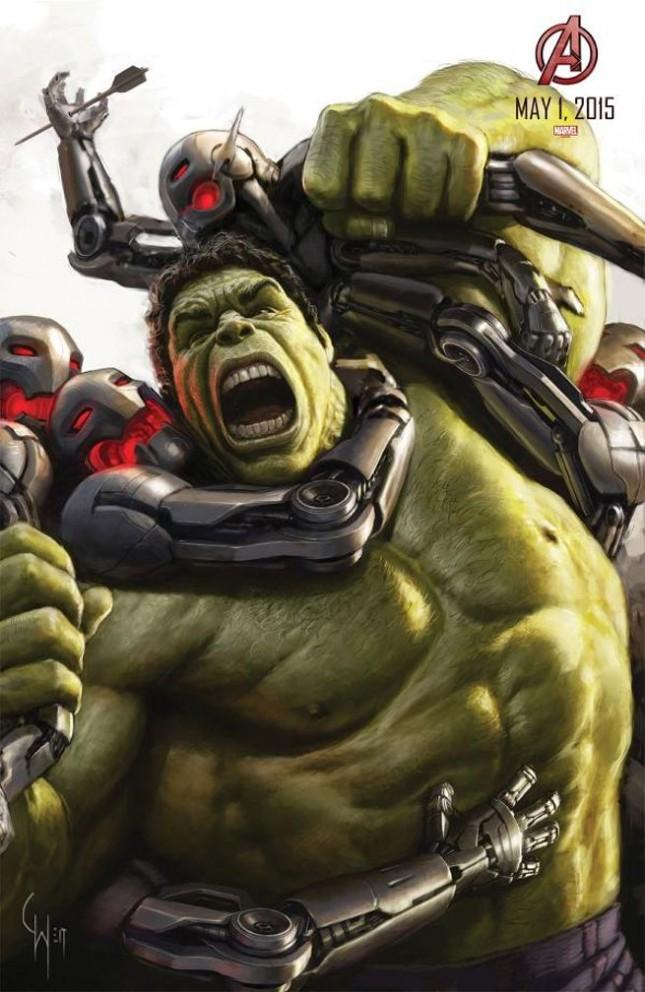 hulk arte conceptual avengers era ultron