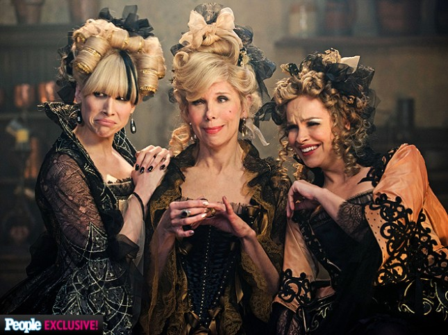 lucy punch christine baranski into the woods