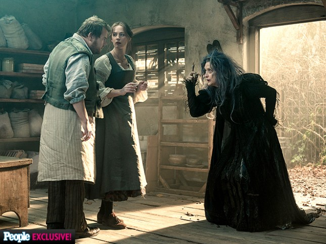 meryl streep emily blunt into the woods