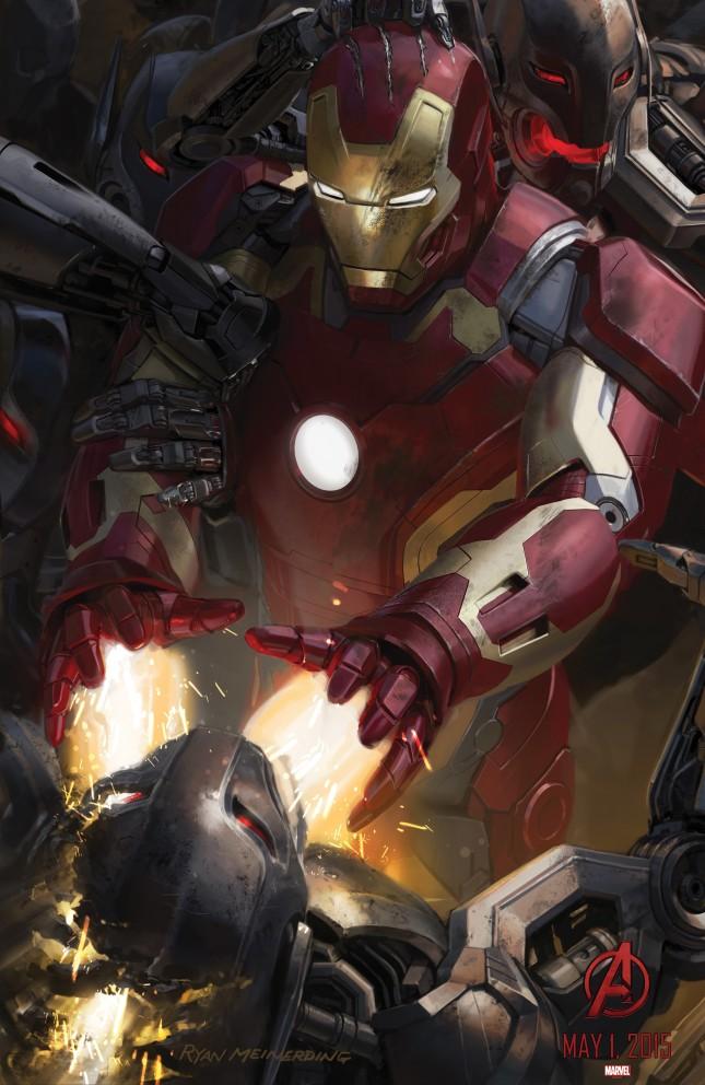 iron man  arte conceptual avengers era ultron