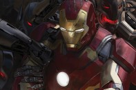 iron man vs ultron avengers arte