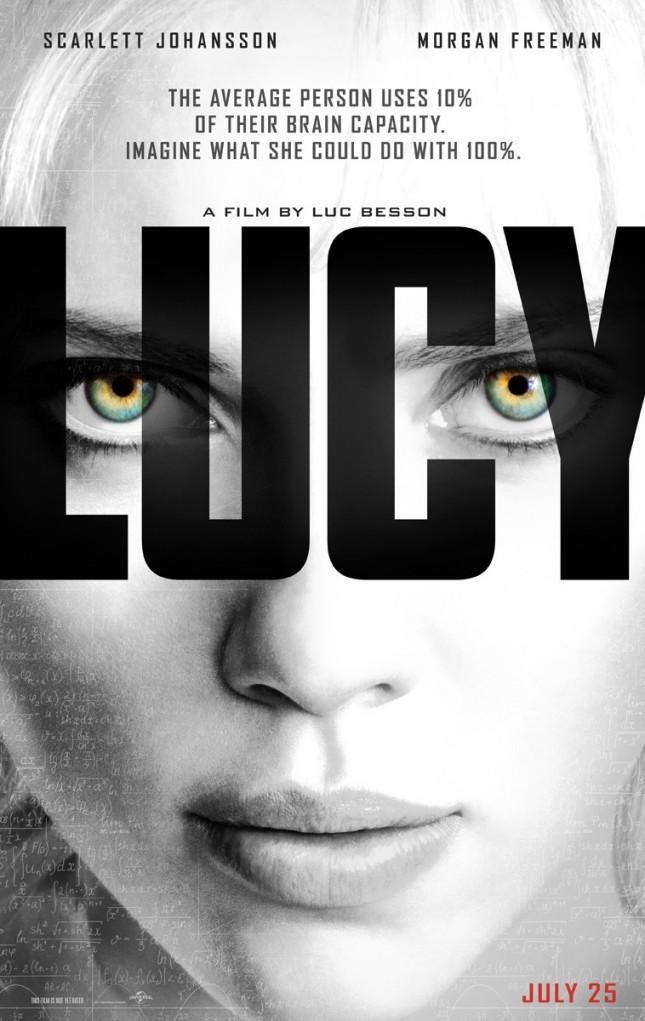 lucy poster scarlett johansson
