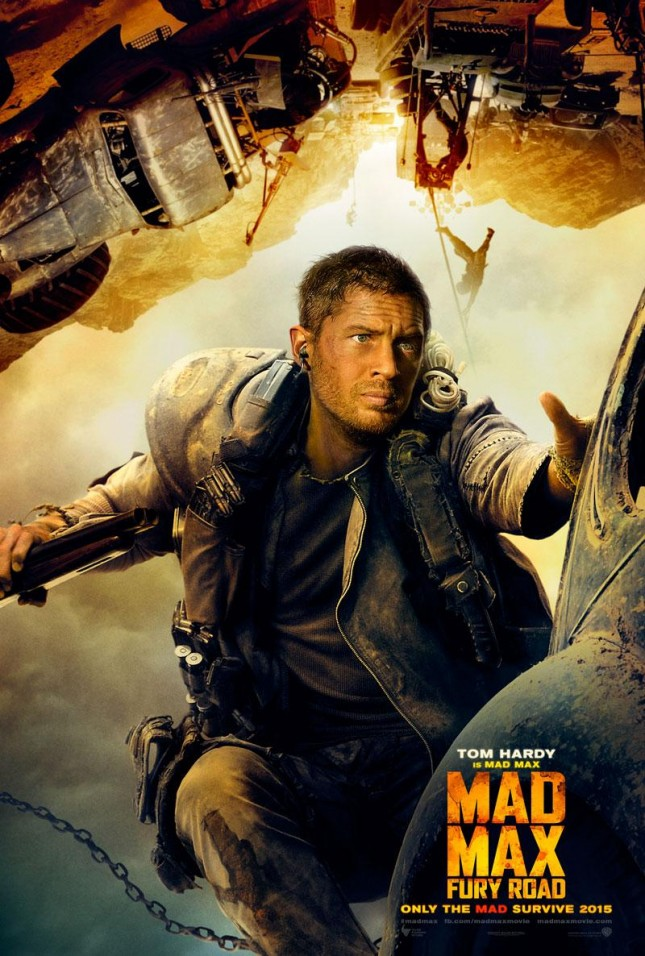 tom hardy mad max furia en el camino poster