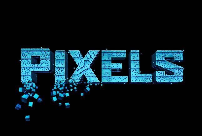pixels logo pelicula