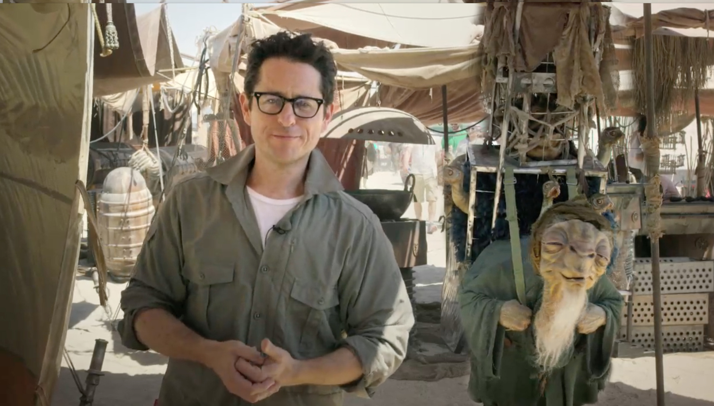 jj abrams alien star wars episodio 7