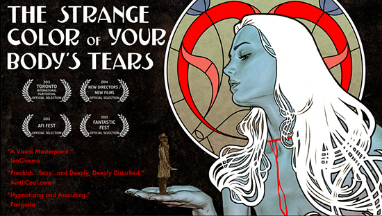 strange colour of your bodies tears banner