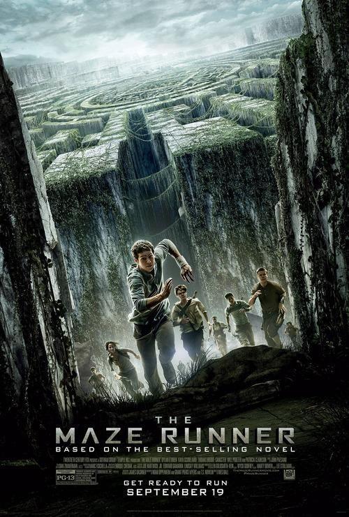 maze runner poster correr o morir