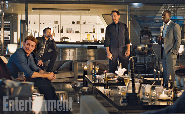 Los Avengers: La Era de Ultron - La Torre Stark