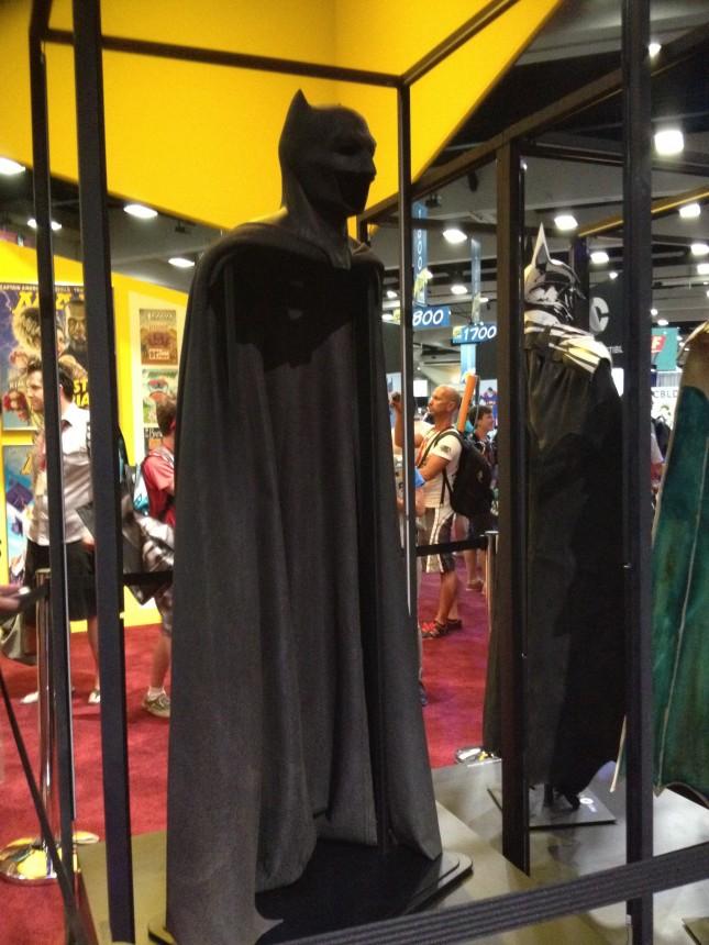 traje batman comic con 2014