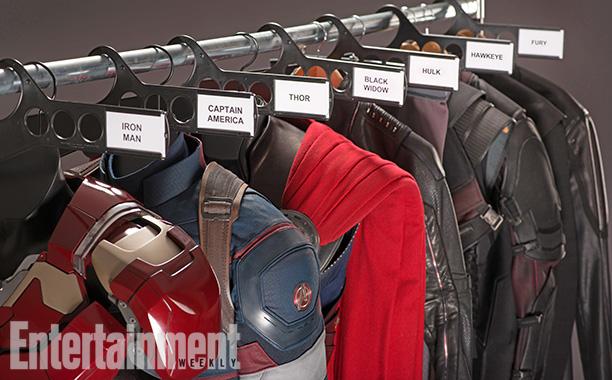 Los Avengers: La Era de Ultron - Los Trajes