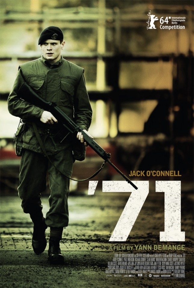 poster 71 pelicula jack o connell