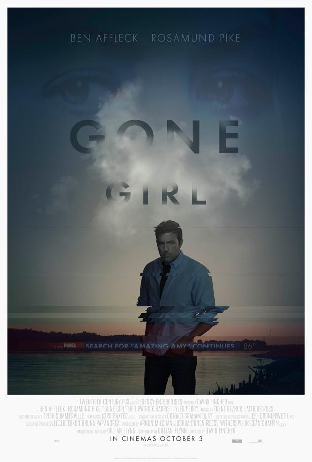 ben affleck gone girl perdida poster