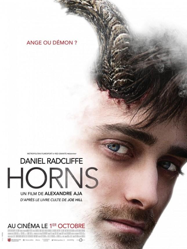poster daniel radcliffe horns