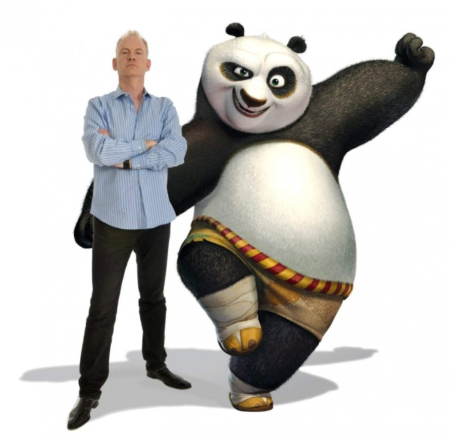 john stevenson kong fu panda