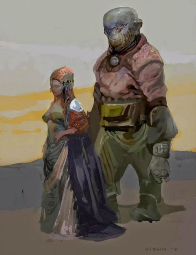 nova ciudadanos guardianes galaxia arte conceptual