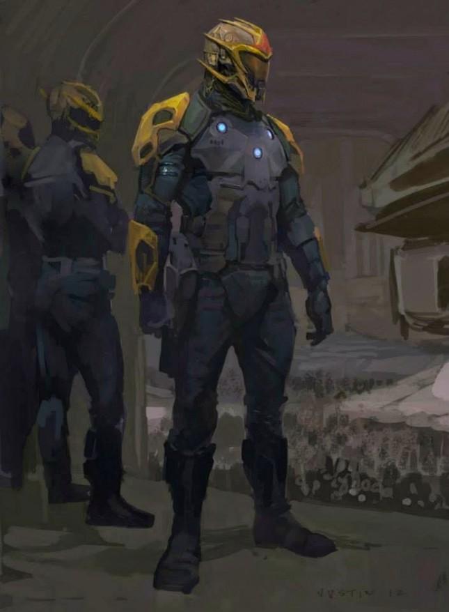 nova prime guardianes galaxia arte conceptual