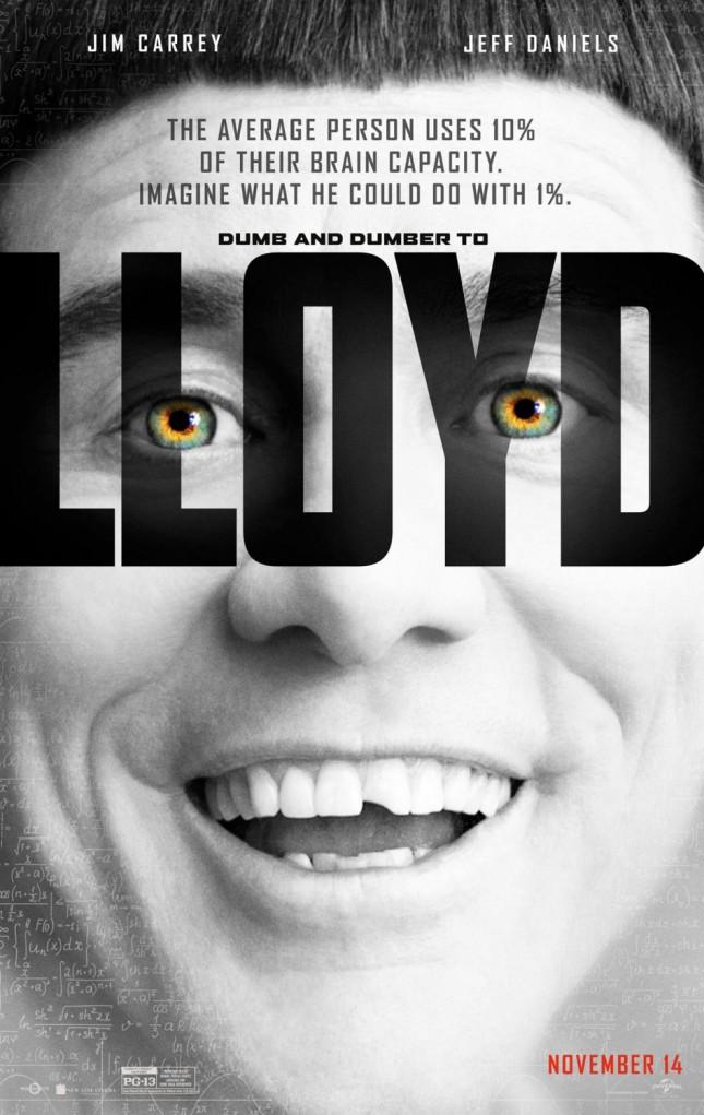 lloyd jim carrey una pareja de idiotas 2 poster lucy