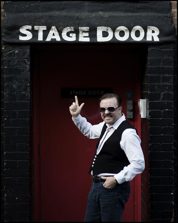 ricky gervais life on the road