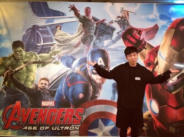 vision avengers china man
