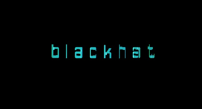 Blackhat pelicula logo