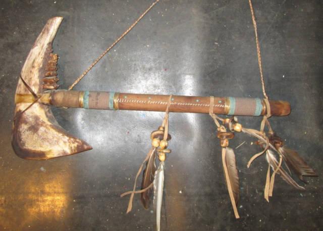 bone tomahawk hacha india
