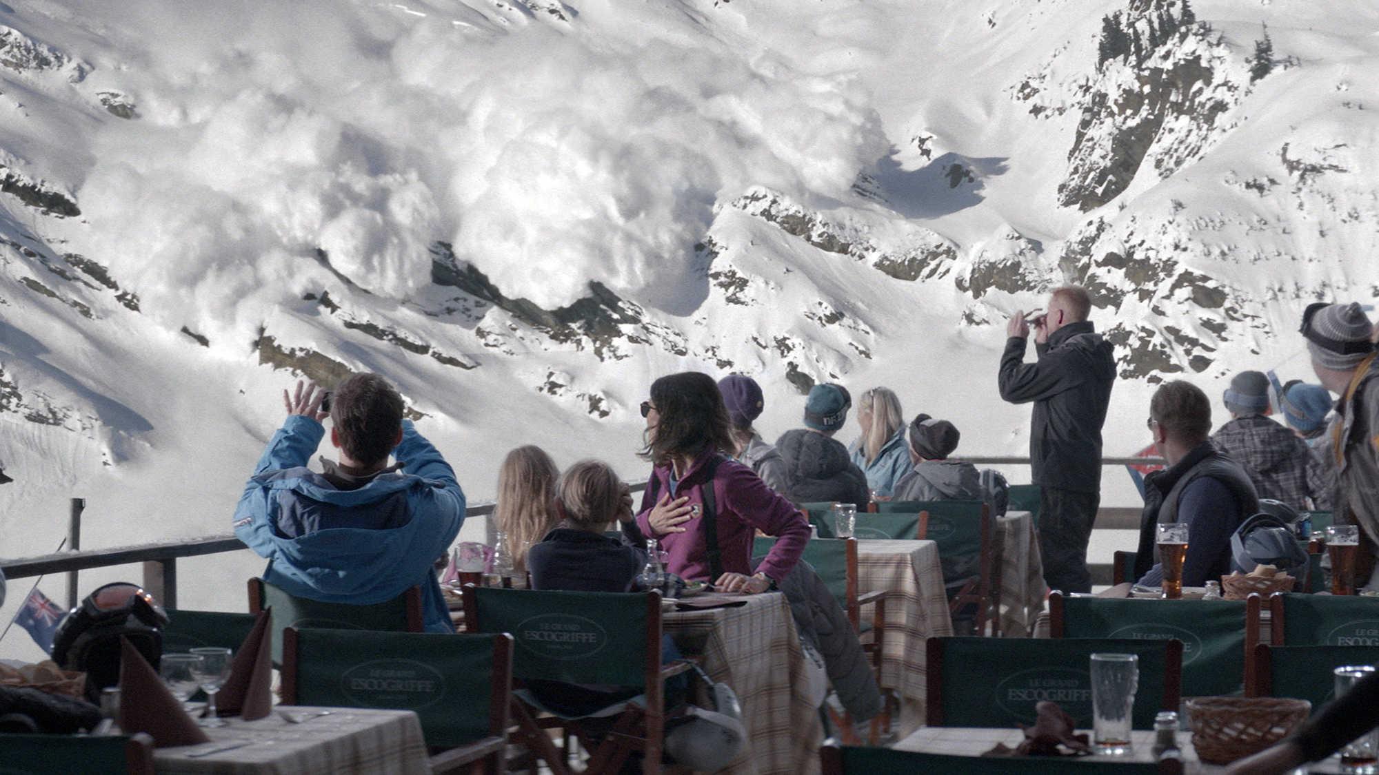 force majeure avalancha alpes