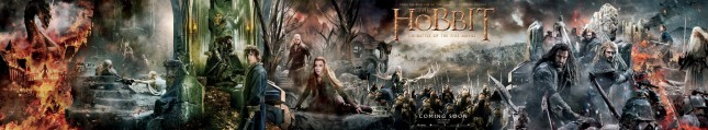 banner hobbit batalla cinco ejercitos