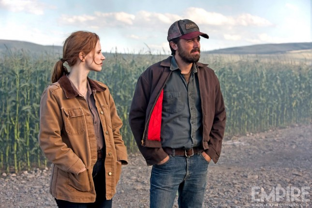 interestelar jessica chastain casey affleck