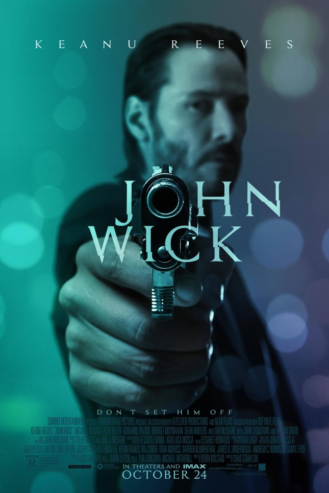 john wick pelicula poster