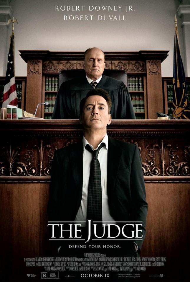 el juez poster robert downey jr