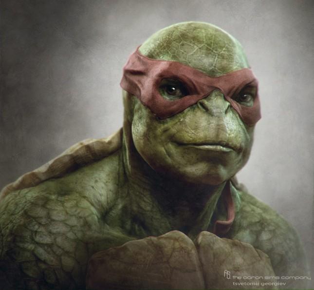 rafael arte conceptual tortugas ninja