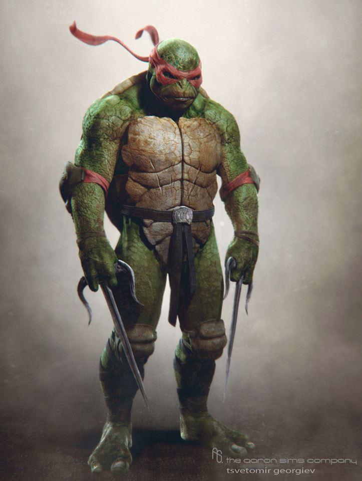 Arte Conceptual de Las Tortugas Ninja • Cinergetica