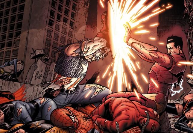 Civil War: El Capitán América V Iron Man