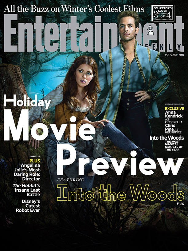 into the woods portada anna kendrick chris pine