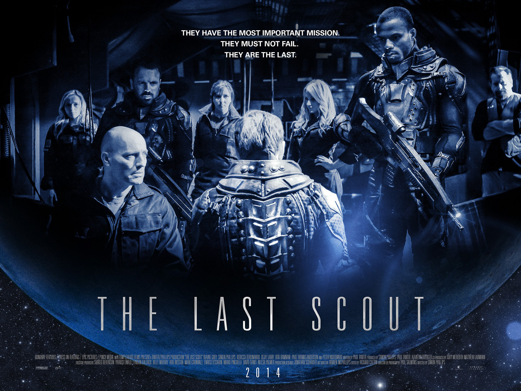 last scout poster movie