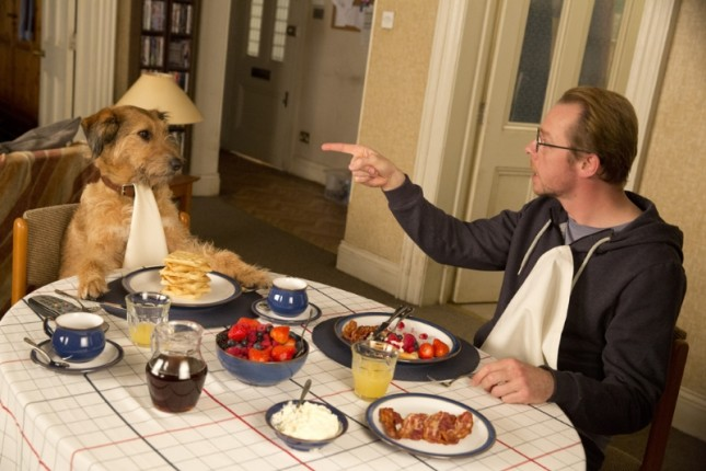 simon pegg perro absolutely anything