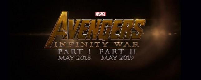 infinity war avengers pelicula logo
