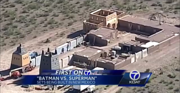 new mexico set batman v superman